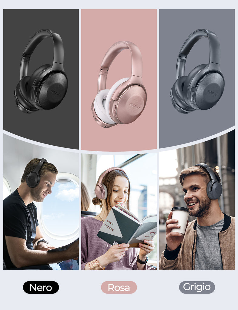 H17 New Bluetooth Headphones Over Ear with 45H Playtime