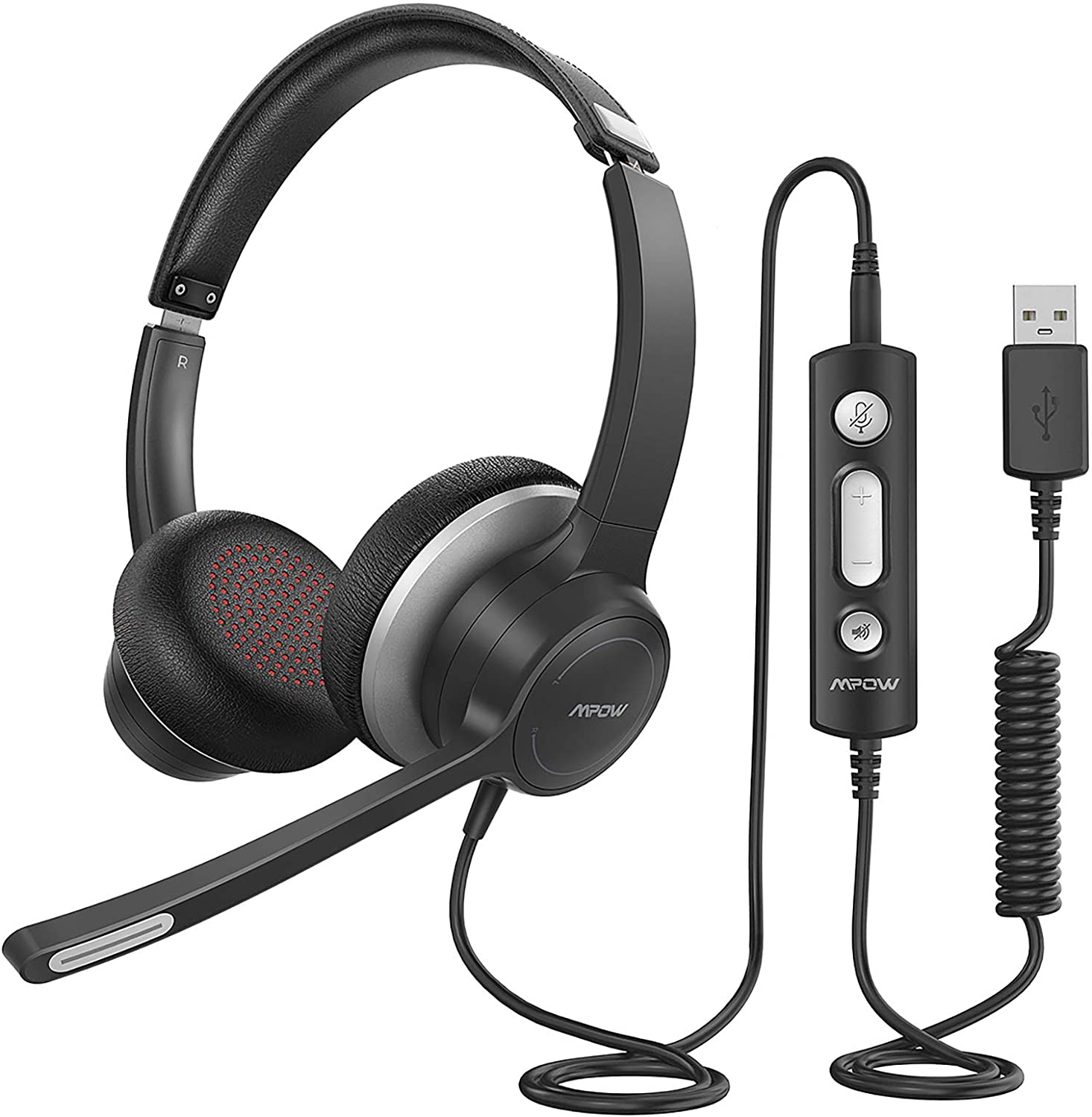 Mpow HC6 Kids Headset with Noise Reduction Microphone