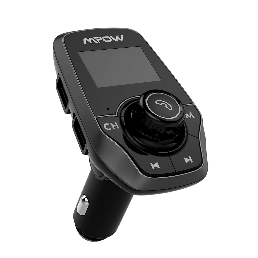 MPOW T3.0 FM Transmitter with large LCD Display