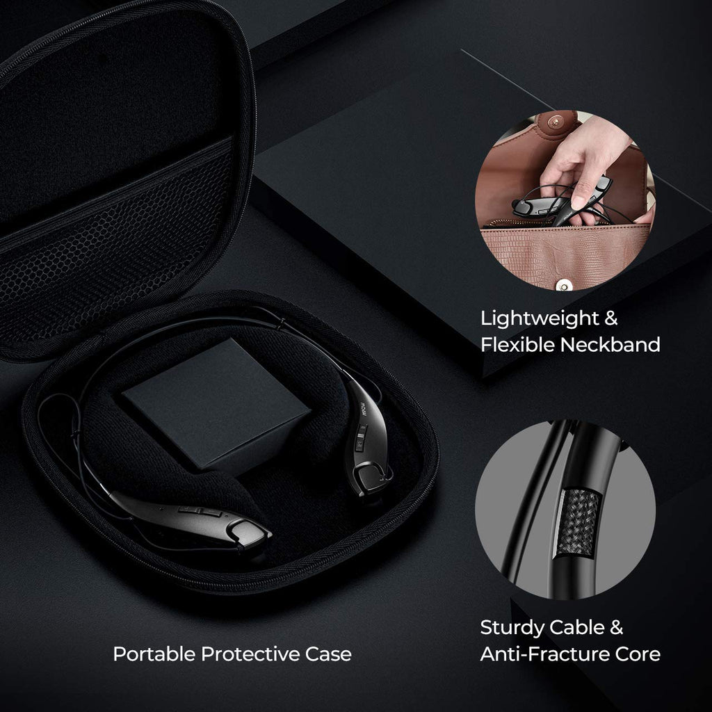 MPOW Jaws Gen-4 Neckband Wireless Earphones with Portable Case
