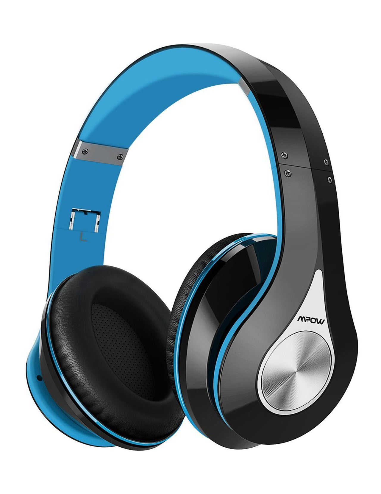 Mpow 059 Bluetooth Headphones Over Ear (Black-Blue)