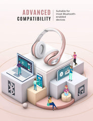 Mpow 059 Bluetooth Headphones Over Ear (Rose Gold)