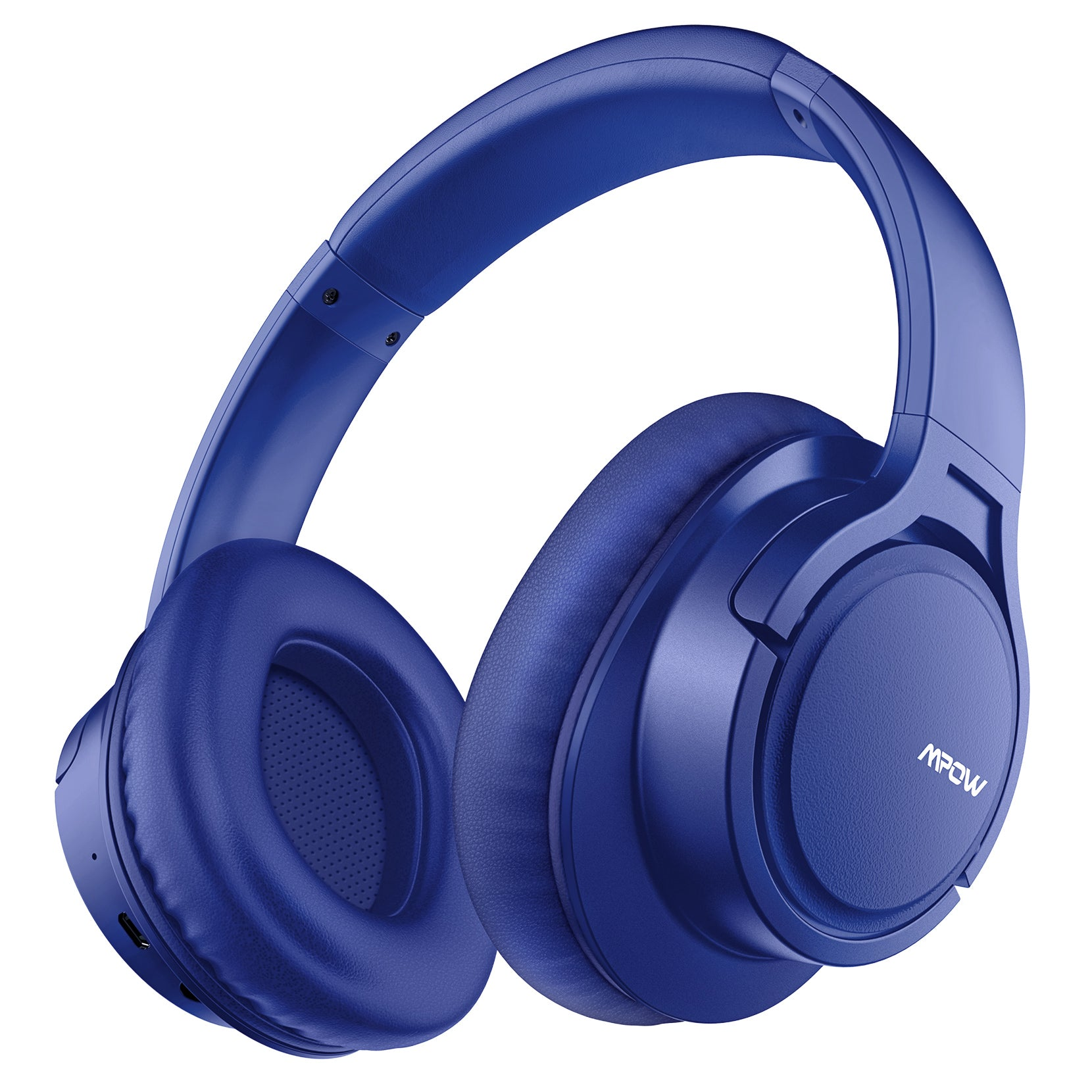 Mpow H7 Bluetooth Headphones Over Ear (Blue)