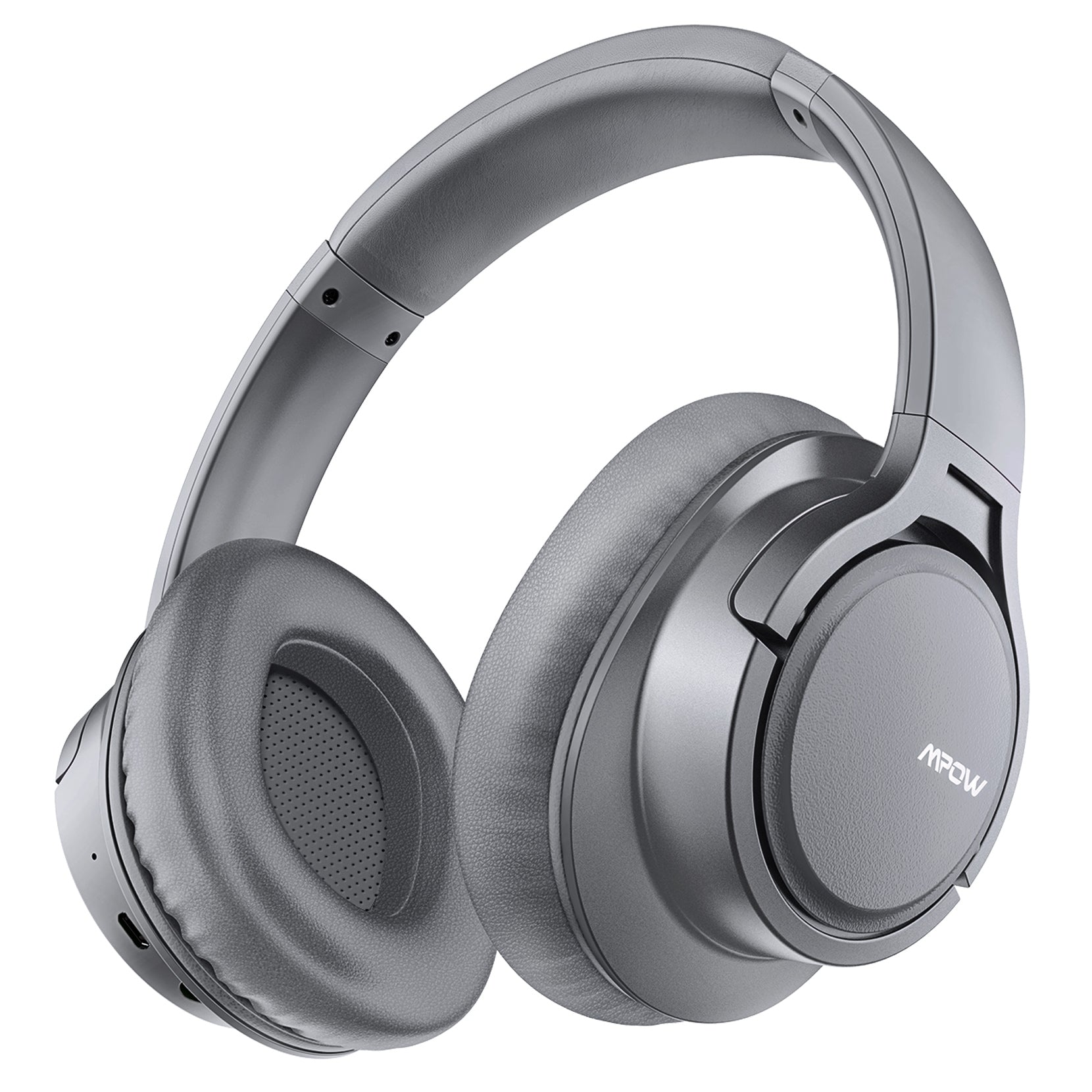 Mpow H7 Bluetooth Headphones Over Ear (Light Gray)