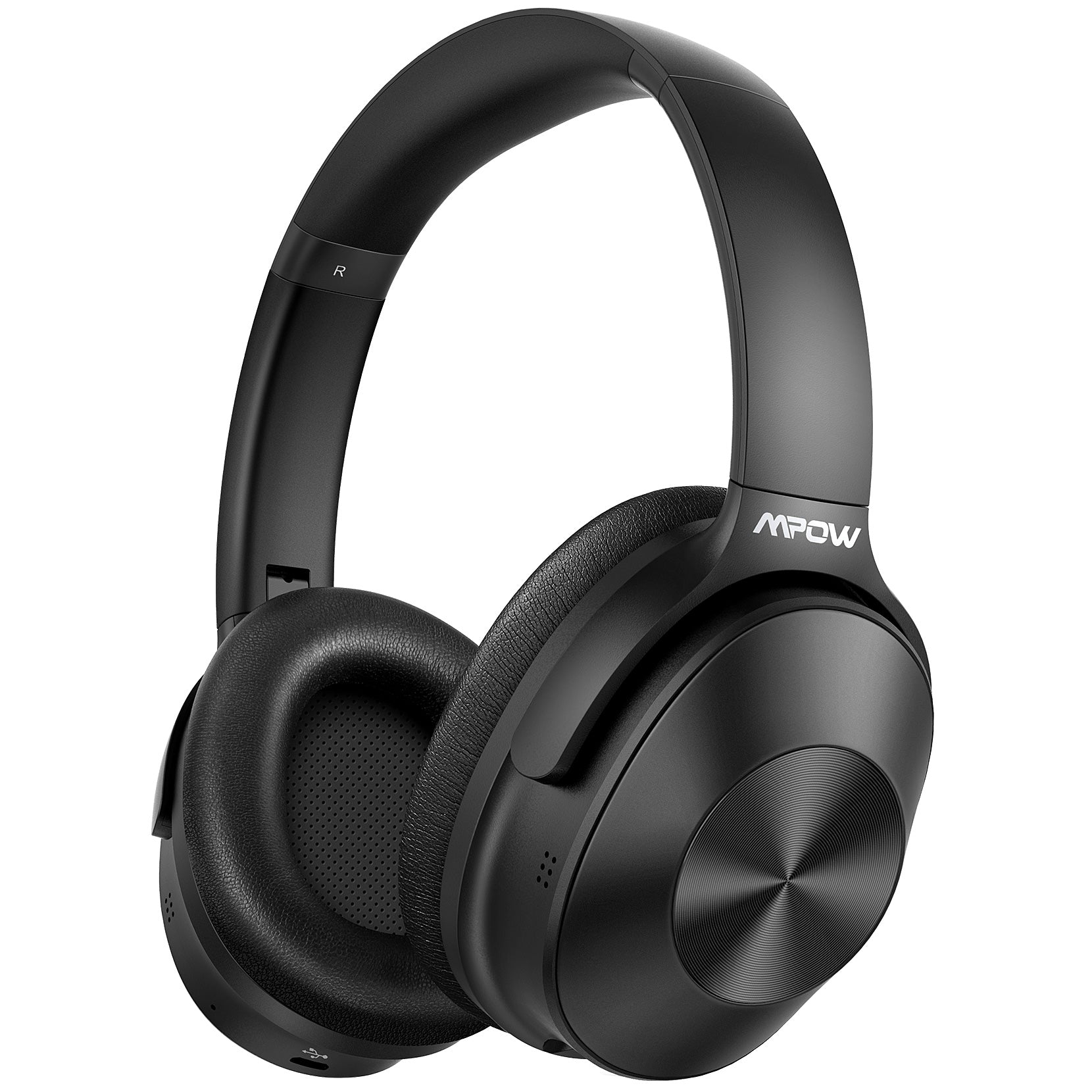 Mpow H12 Noise Cancelling Headphones (Black)
