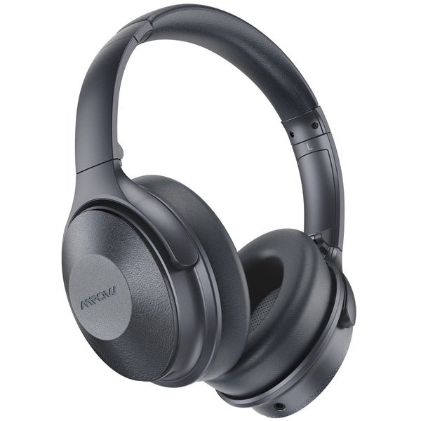 Mpow H17 Active Noise Cancelling Headphones (Silver Grey)