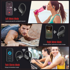 Mpow Flame Lite True Wireless Earbuds with Earhooks for Sports
