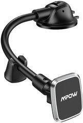 Mpow CA154A Magnetic Car Phone Mount, Dashboad Phone Holder with  Anti-shake Stabilizer