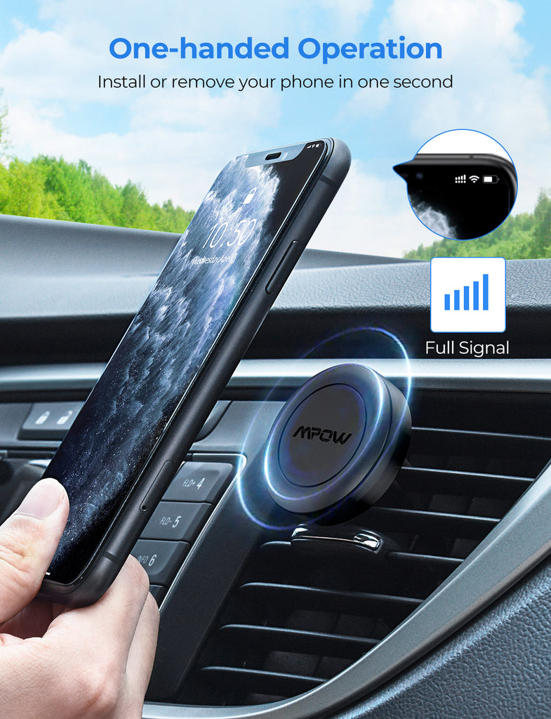 Mpow CA157A Magnetic Car Phone Mount
