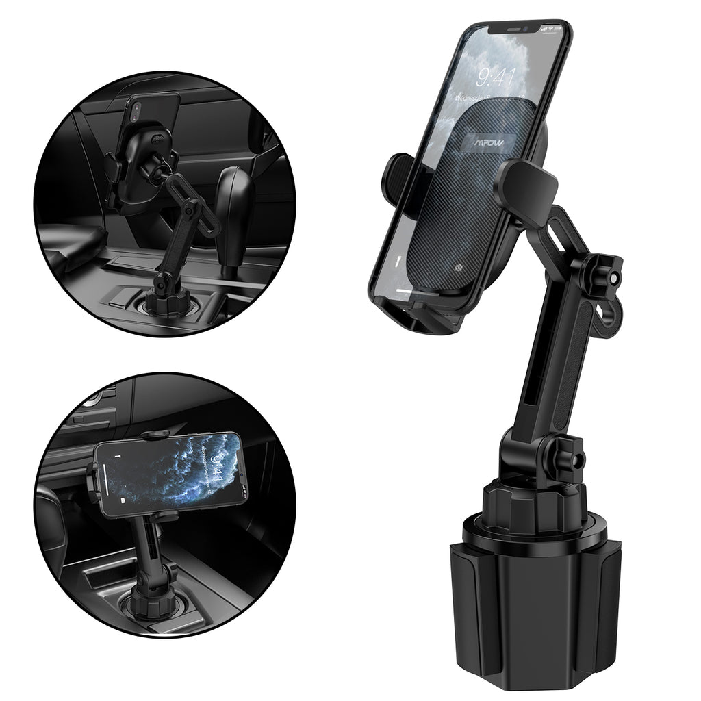 Mpow CA158A Cup Holder Phone Mount