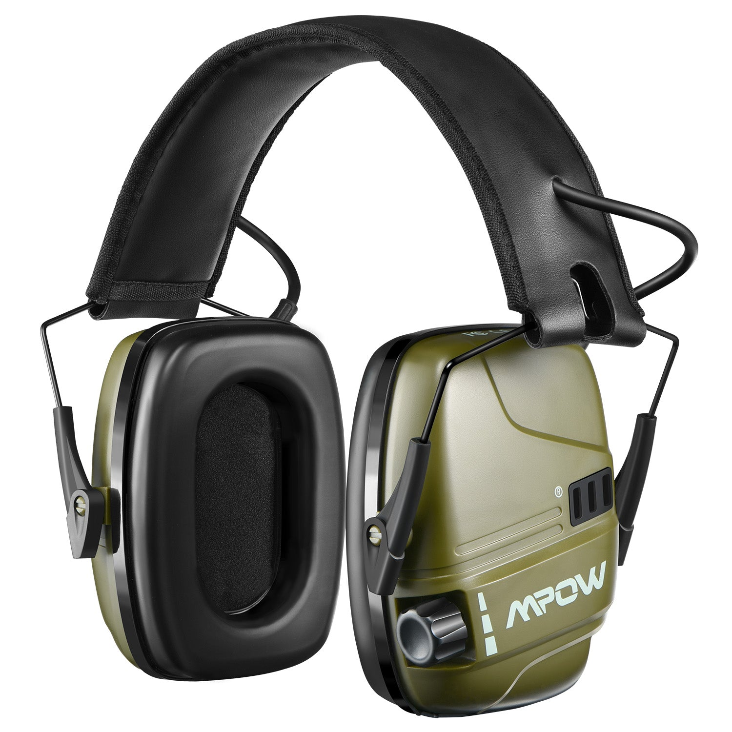 MPOW HP094B Electronic Shooting Earmuffs, Rechargeable, NRR 22dB