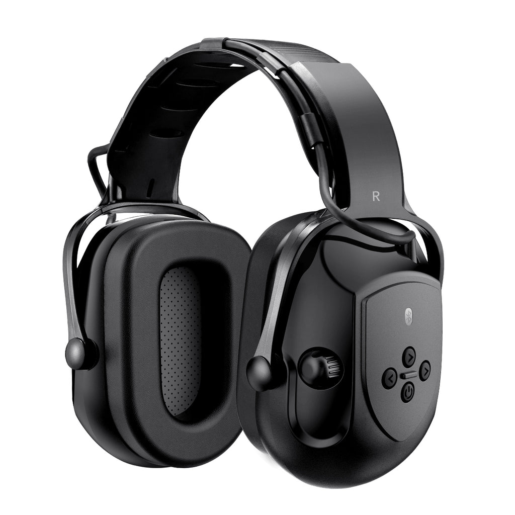 MPOW HP102A Bluetooth Noise Reduction Safety Ear Muffs, NRR 29dB