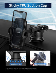 MPOW CA104A Car Phone Mount, Dashboard Windshield Car Phone Holder