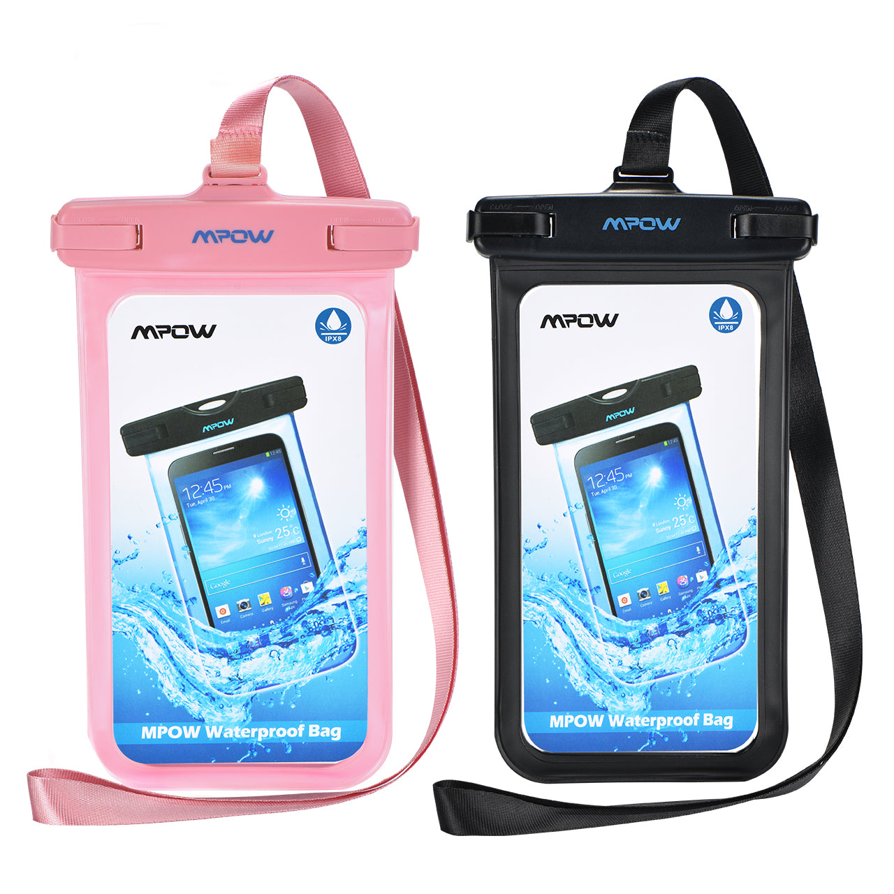 MPOW PA085B Waterproof Phone Pouch