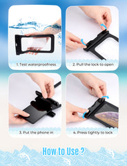 Mpow PA089A Waterproof Phone Pouch