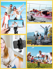 MPOW PA204A Universal Smartphone Tripod Adapter with Bluetooth Remote