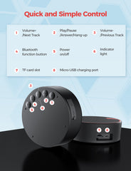 MPOW Soundhot Q2 Bluetooth Shower Speaker
