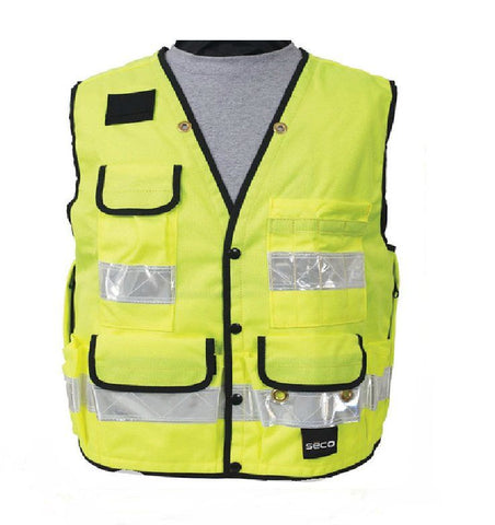 Seco Safety Utility Vest