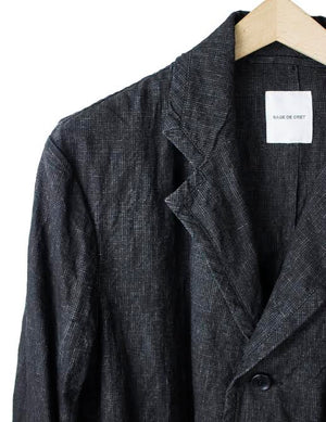 LINEN 3 BUTTON JACKET
