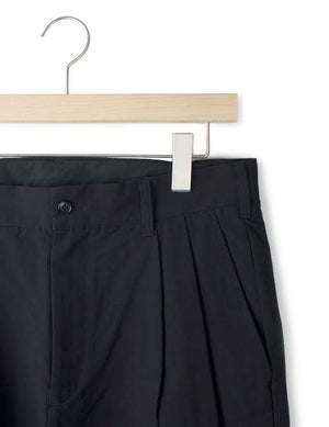 PLEATED COTTON TROUSER