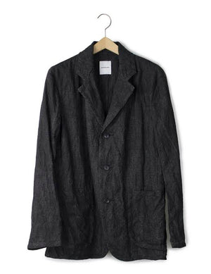 Open image in slideshow, LINEN 3 BUTTON JACKET
