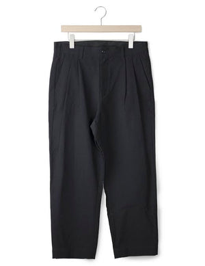 Open image in slideshow, PLEATED COTTON TROUSER