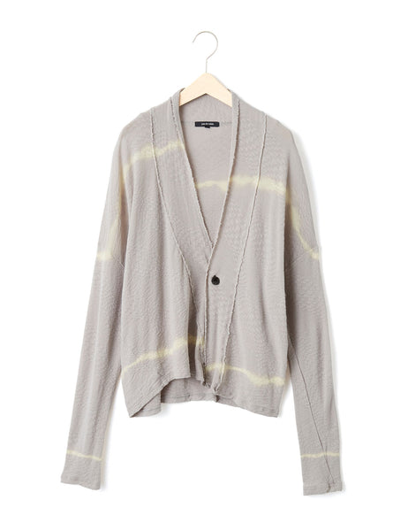 LINE COTTON CARDIGAN