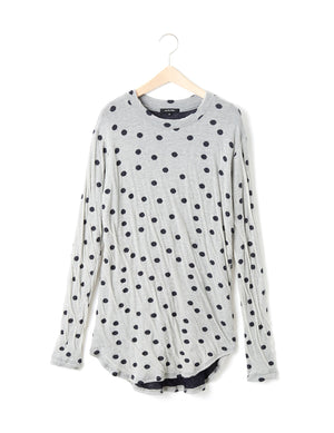 COTTON DOT PULLOVER