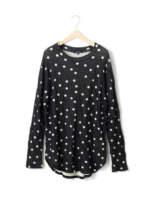 Open image in slideshow, COTTON DOT PULLOVER