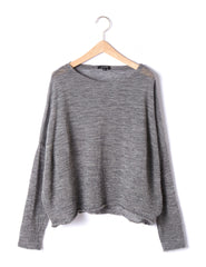WOOL GAUZE PULLOVER