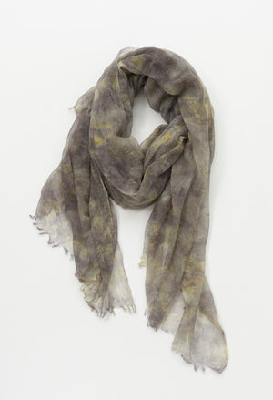 DROP DYED CASHMERE STOLE
