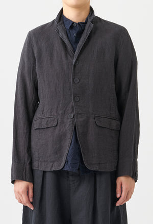 Open image in slideshow, WASHED LINEN JACKET