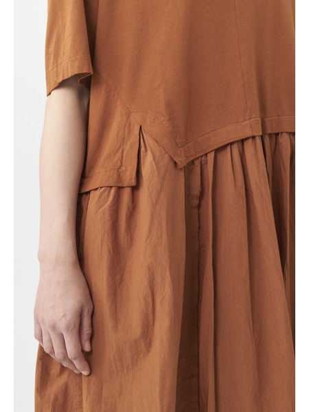 JERSEY COTTON SHIRT DRESS
