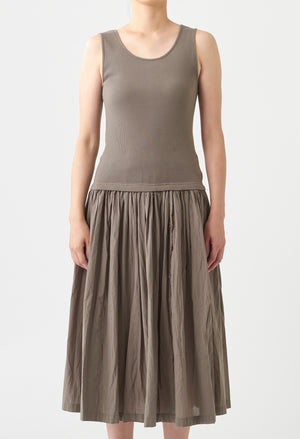 Open image in slideshow, TANK TOP SKIRT DRESS