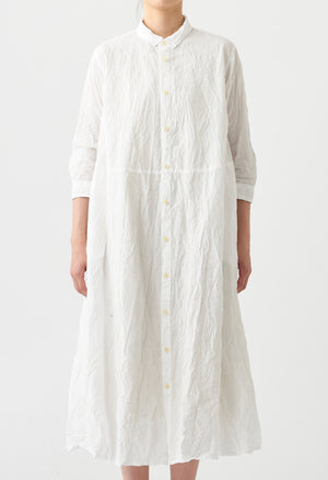 Open image in slideshow, WRINKLE FINISH COTTON DRESS