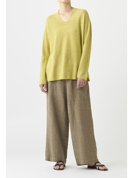 CLASSIC RELAXED FIT LINEN PANT