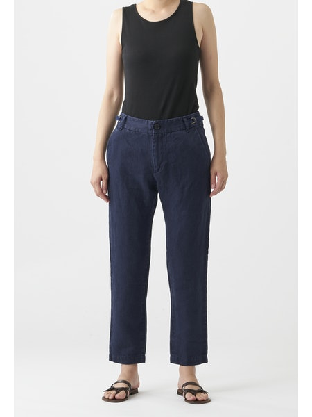 WASHED CLASSIC LINEN PANT