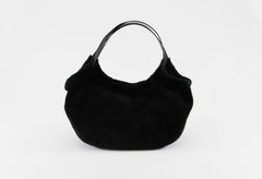 Shearling Shoulder Bag