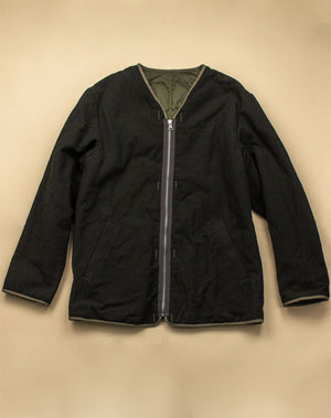 Open image in slideshow, QUILTED ZIP COAT
