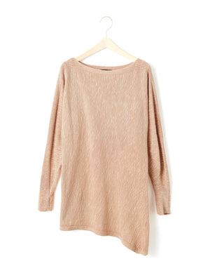 Open image in slideshow, A-LINE COTTON PULLOVER