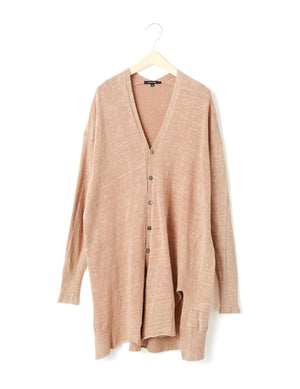 Open image in slideshow, LONG COTTON CARDIGAN