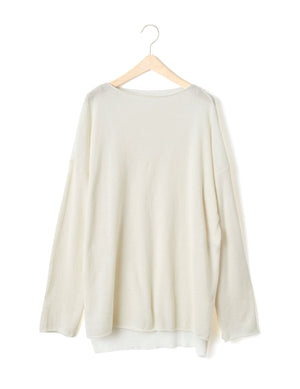 Open image in slideshow, SIDE SLIT PULLOVER