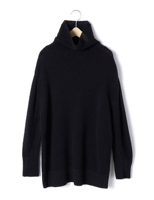 Open image in slideshow, MOCK NECK PULLOVER