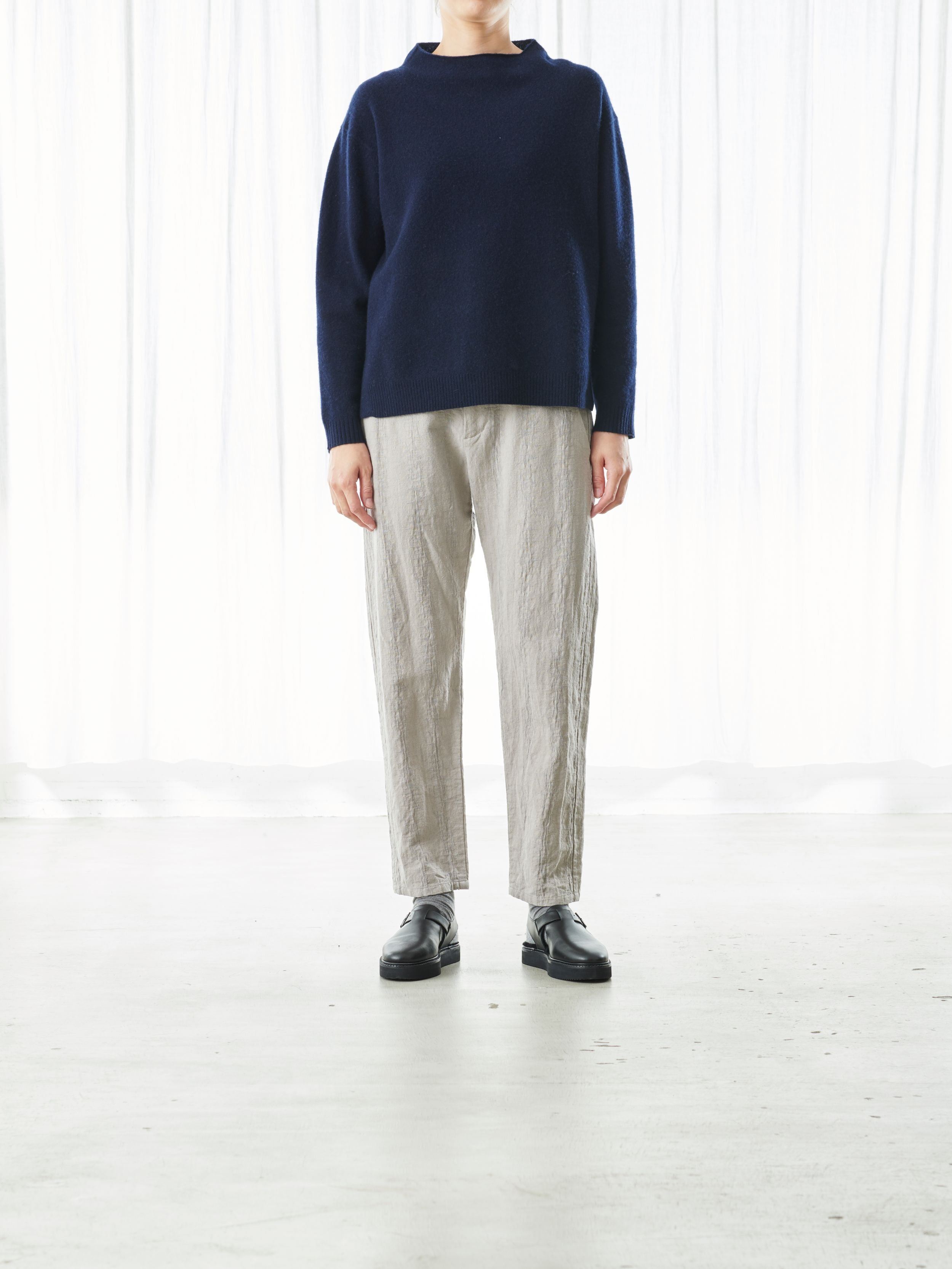 WOOL/CASHMERE PULLOVER