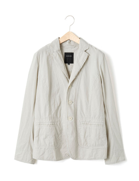 RAW HEM COTTON JACKET