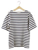 COTTON STRIPE TSHIRT