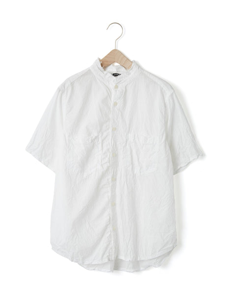 CRINKLED COTTON SHIRT