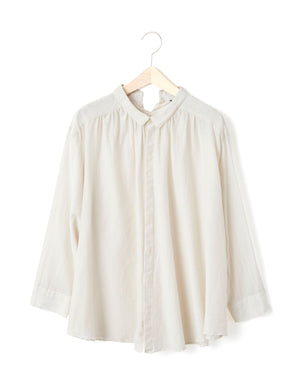 Open image in slideshow, PETITE BUTTON BLOUSE