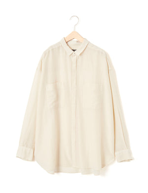 Open image in slideshow, COTTON AND SILK BLOUSE