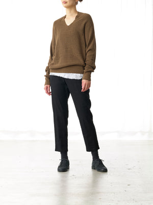 SLIM FRENCH LINEN PANT